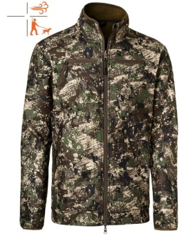 Chevalier Pixel Camo Reversible Windblocker Coat Green