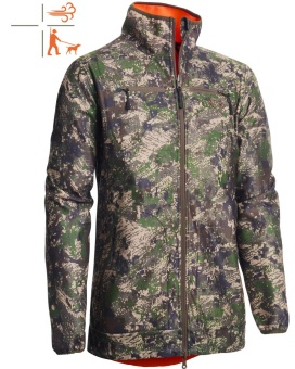 Chevalier pixel camo reversible windblocker coat HV