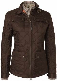 Chevalier Avalon Lady Quilt Coat Brown
