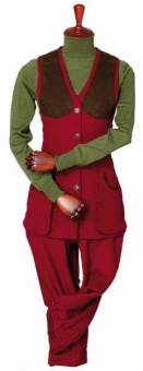 Laksen Lady Broadland Vest Red