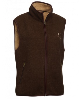 Chevalier Mainstone Fleece Waistcoat Brown Lady