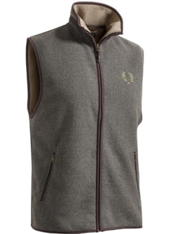 Chevalier Mainstone Fleece Waistcoat Greymelanage