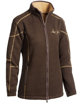 Chevalier Shelby Lady Fleece Cardigan Brown