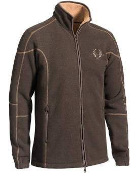 Chevalier Shelby Fleece Cardigan Brown