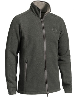 Chevalier Shelby Fleece Cardigan Greymelange