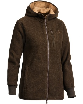 Chevalier Milestone Fleece Hoodie Brown Lady