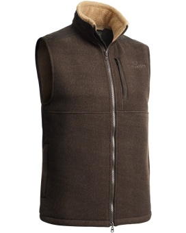 Chevalier Milestone Fleece Vest Brown Lady
