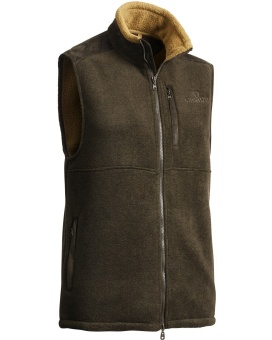 Chevalier Milestone Fleece Vest Greenmelange Lady