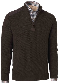 Chevalier Gabriel Cotton Pullover Brown