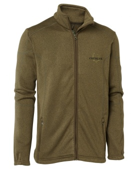 Chevalier Denali Fleece Cardigan Green