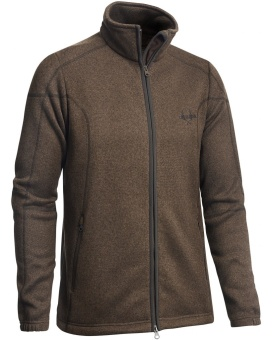 Chevalier Chester Fleece Cardigan Dark Brown