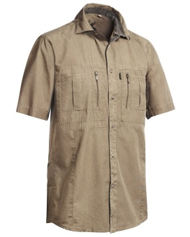 Chevalier Gobi Safari Shirt Short Sleeve Sand