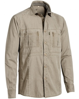Chevalier Gobi Safari Shirt Long Sleeve Sand