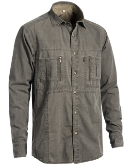 Chevalier Gobi Safari Shirt Long Sleeve Tobacco