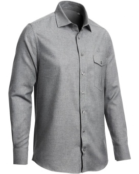 Chevalier wooloch Shirt Grey