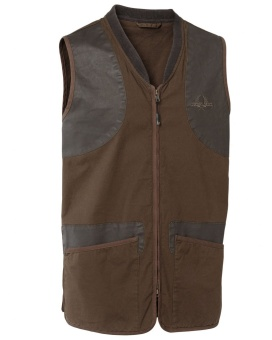 Chevalier Devon Shooting Vest Brown Lady