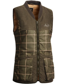 Chevalier Whisper Lady Vest Checked