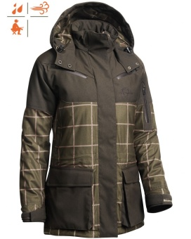 Chevalier Whisper Lady Coat Checked