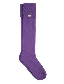 Dubarry Alpacka Sock Purple