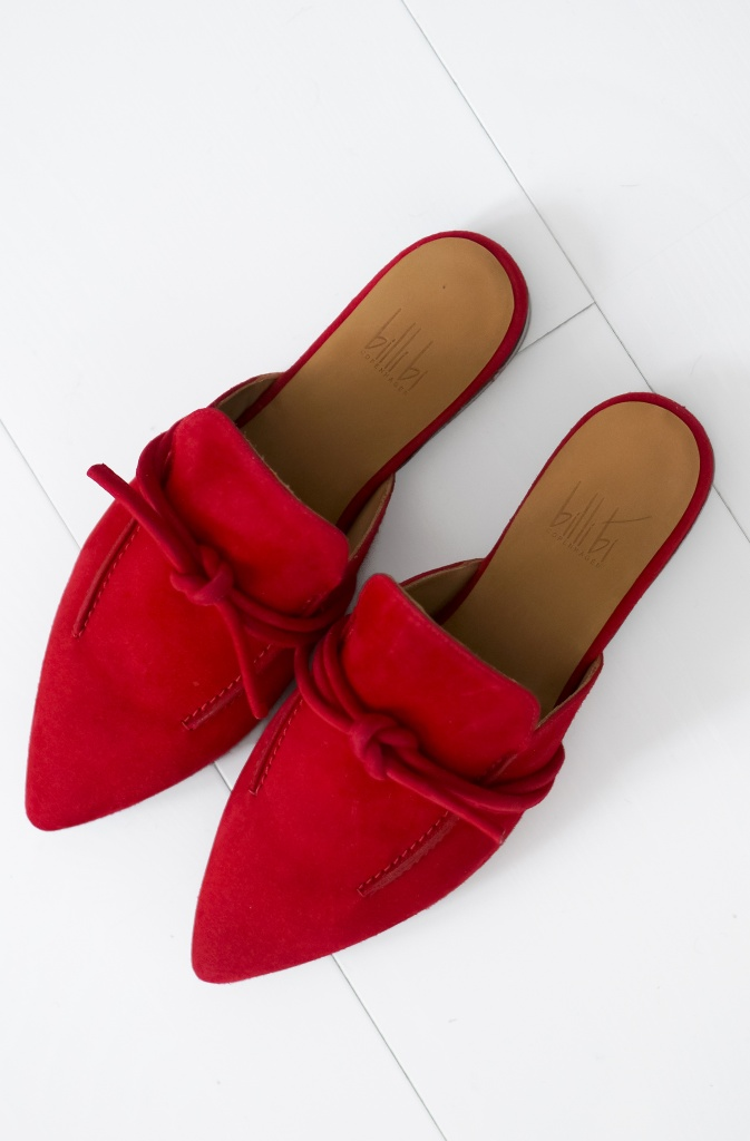 BILLI BI - Red SlipIn with knot