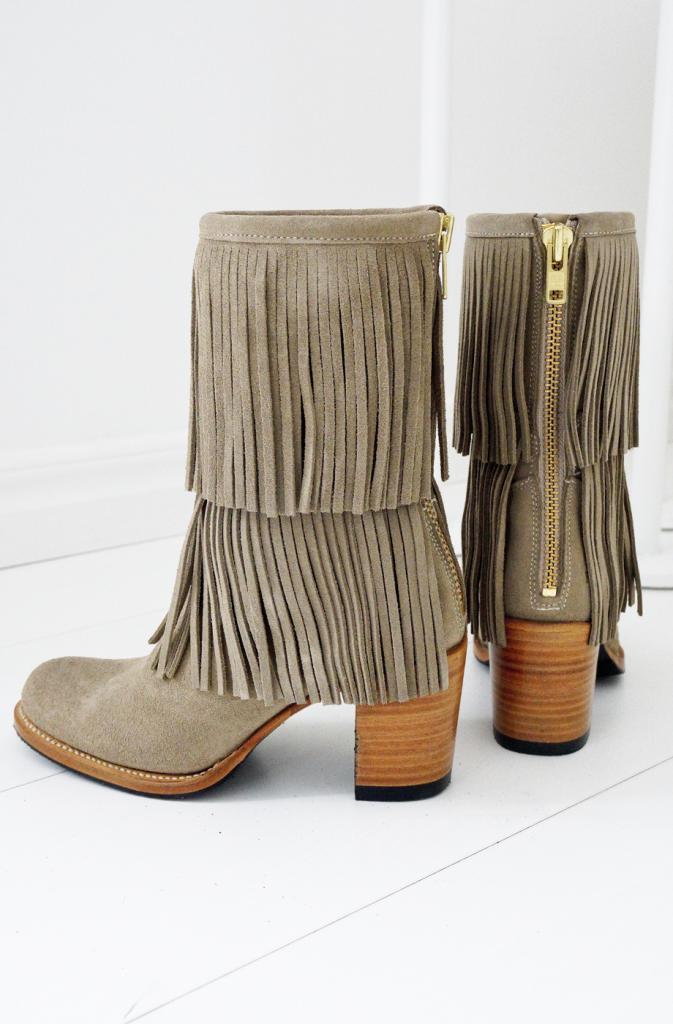 boots med fransar