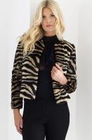 STAND - Sofia Zebra Short Jacket