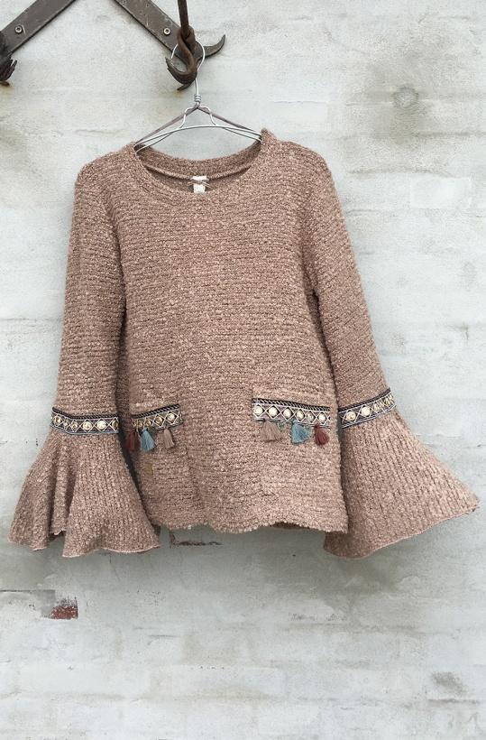 NKN NEKANE - Amadea Caramelo Sweater