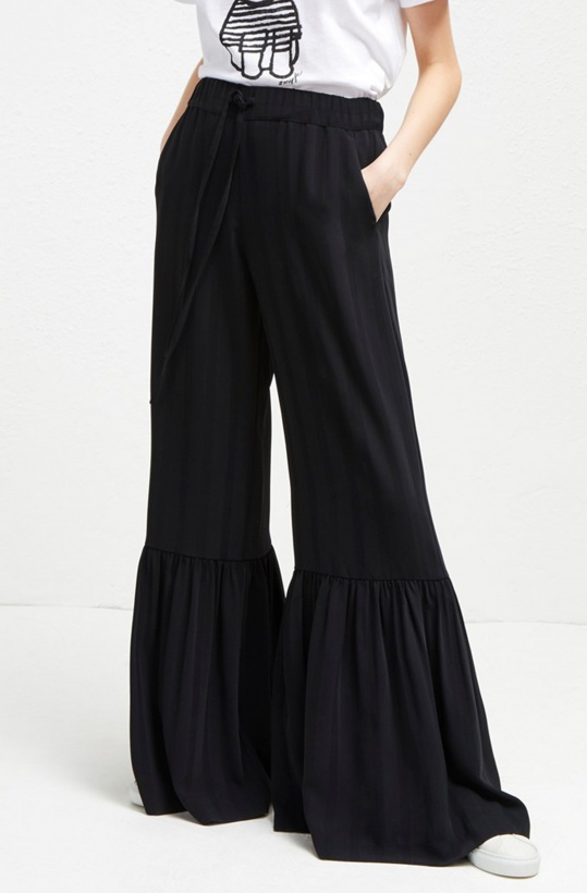 FRENCH CONNECTION - Aleida Bell Bottom Trousers