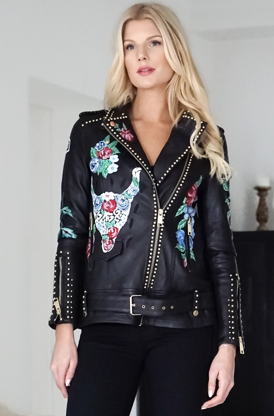 ALIX THE LABEL - Limited Edition Leather Jacket