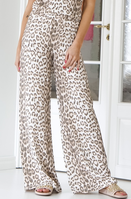 ALIX THE LABEL - Wide Animal Pant