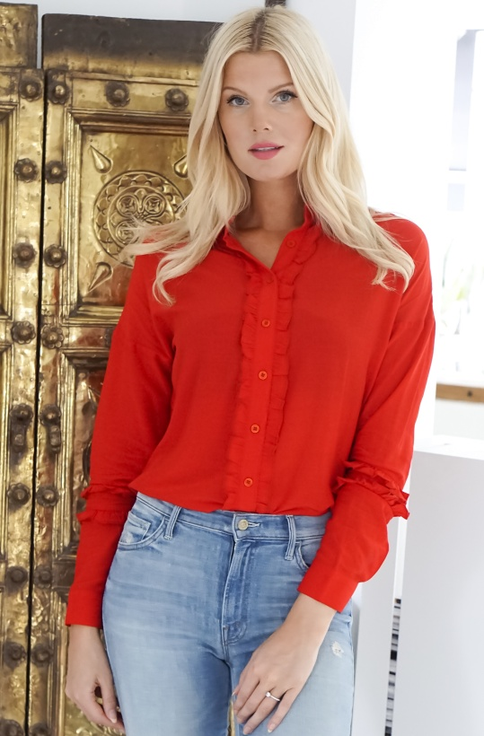 ALIX THE LABEL - Woven Blouse