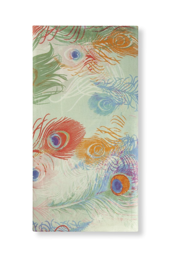 ALIX THE LABEL - Peacock Scarf