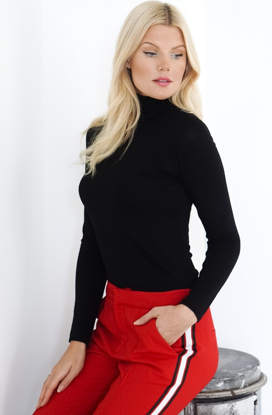 ALIX THE LABEL - Turtle Neck Top