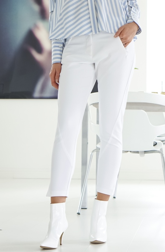 FIVE UNITS - Angelie Zip White Jegging