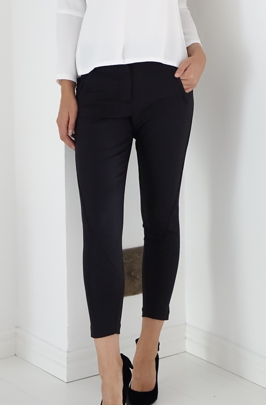 FIVE UNITS - Angelie Zip Black Jegging
