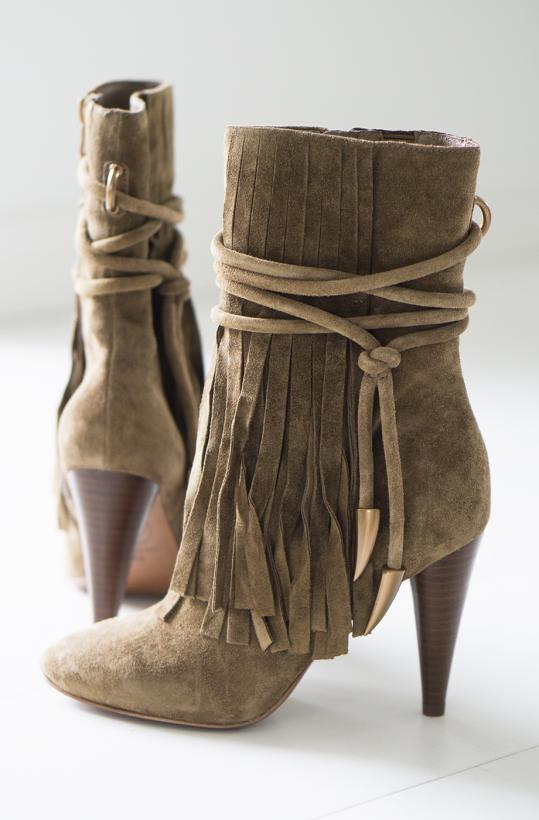 ASH - High Heel Fringe Boot