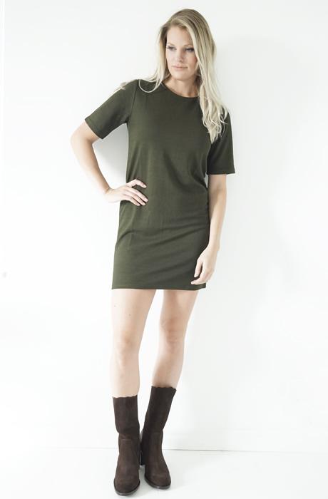 Dry Lake - Bianka Green Short dress