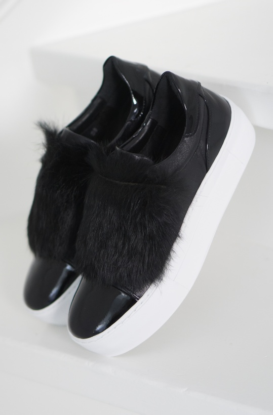 BILLI BI - Sneaker with Fur