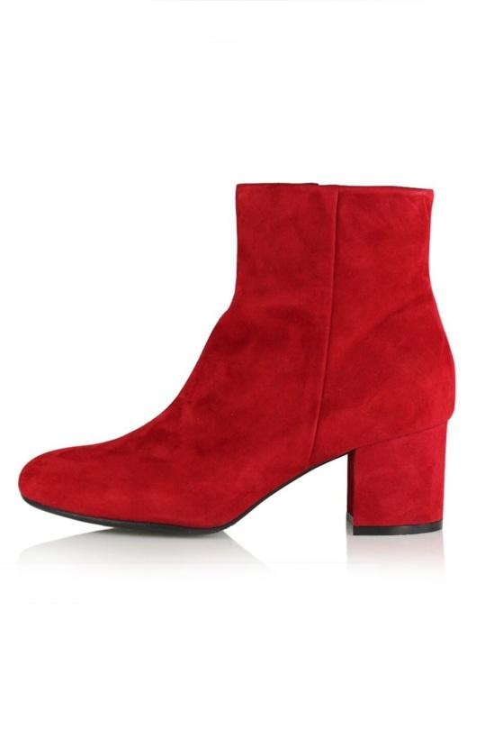 BILLI BI - Red Suede Boot
