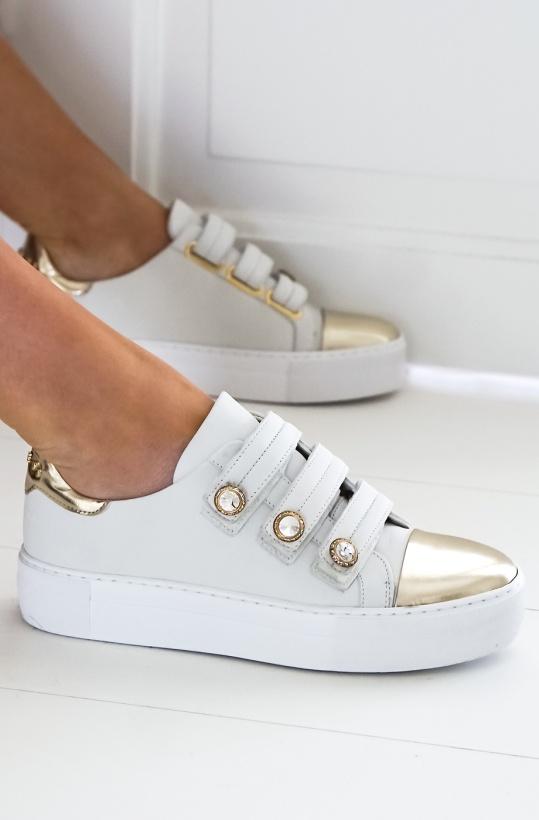 BILLI BI - Slip On Pearls White Metal