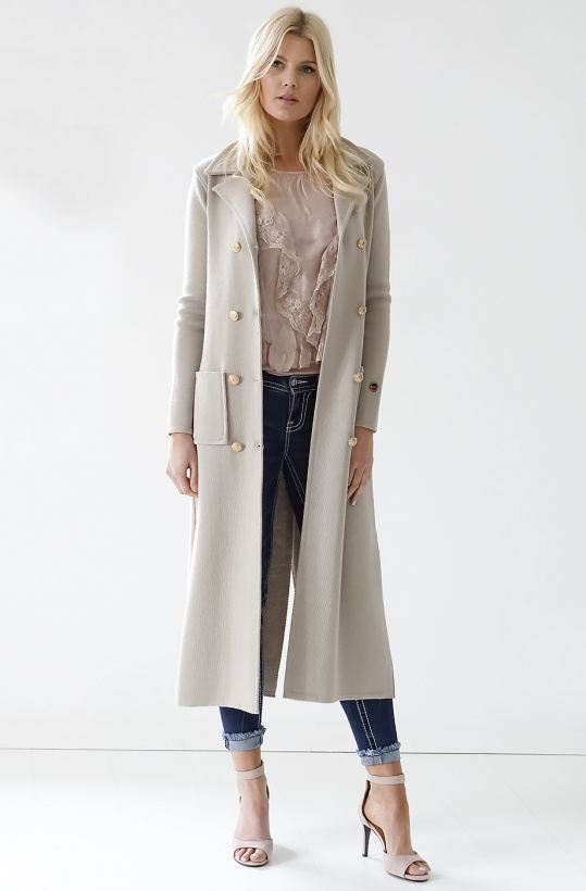 BUSNEL - Capri Coat Long