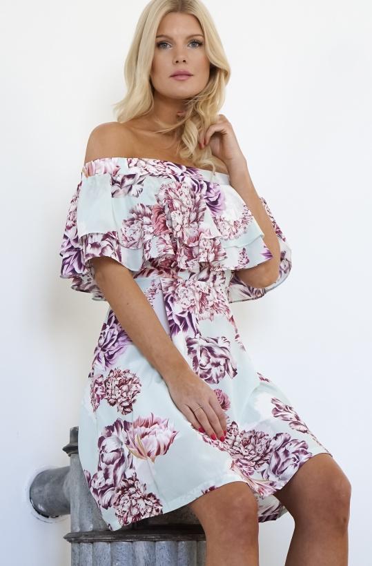 BY MALINA - Inez Dress Silk Fiore