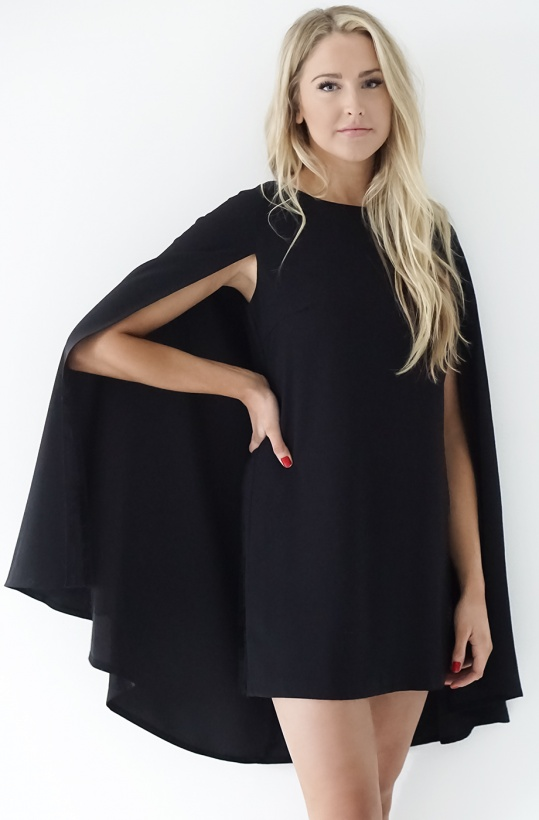 BY MALINA - Gaby Cape Dress