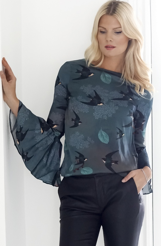 BY MALINA - Rosey Blouse Silk