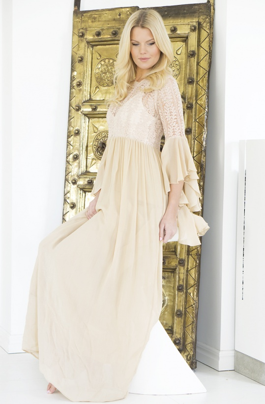 BY TIMO - Lace Maxi Dress