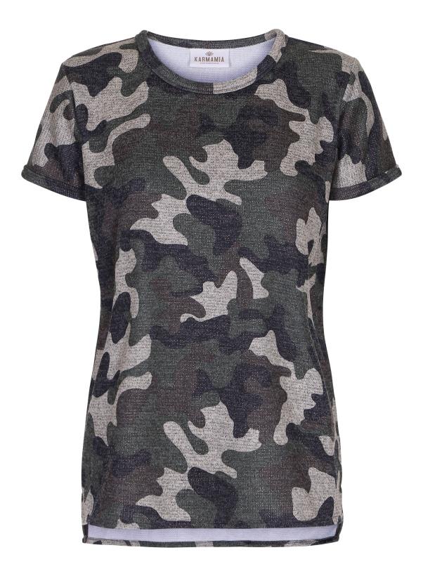 KARMAMIA - Camo Shimmer Tshirt