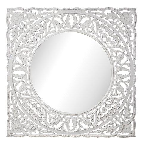 CARVE MIRROR - Square 80 cm