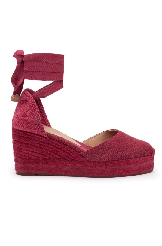 CASTANER - Wedges Carina Red