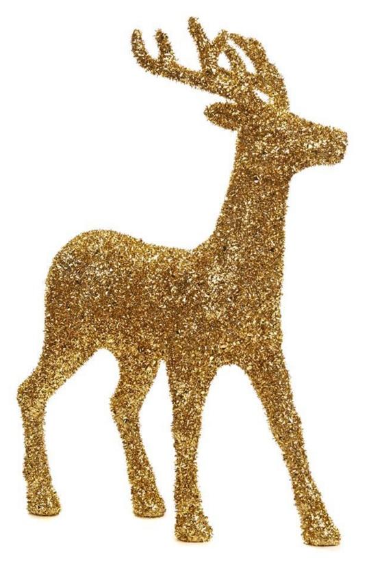 Glitter Deer Gold