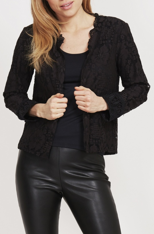 DRY LAKE - Nathy Cardigan Black Lace